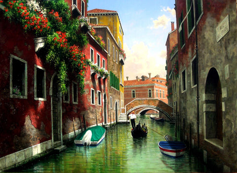 A Vision Of Venice by James Britto