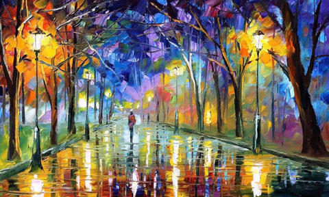 A Walk In The Park - Beautiful Painting