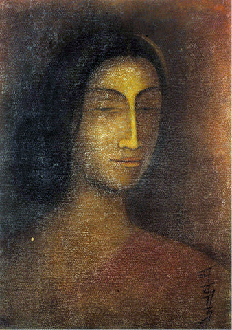 Abanindranath Tagore  - Portrait Of Lady