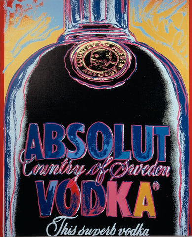 Absolut Vodka Artsy Version