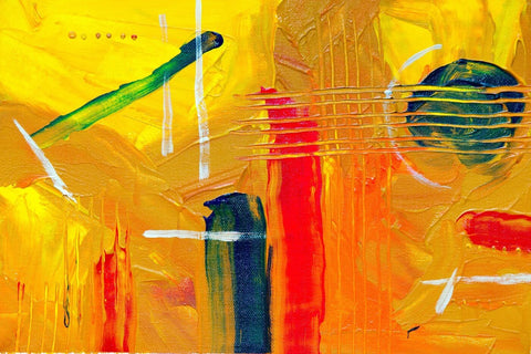 Abstract Expressionism - Birth Of Music - Posters by Tallenge Store
