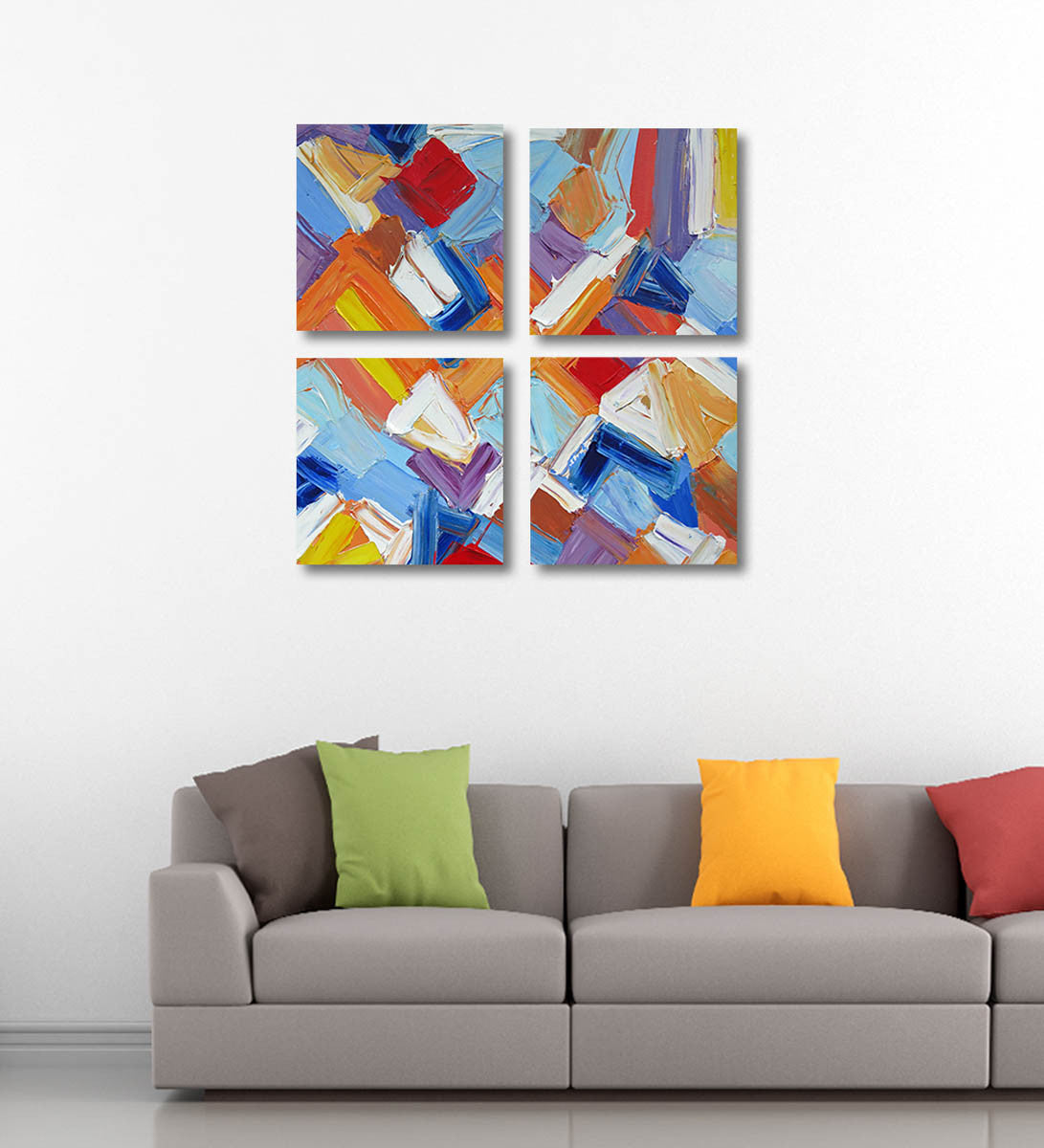 Abstract Painting - Mosaic - Art Panels by James Britto   Buy ...