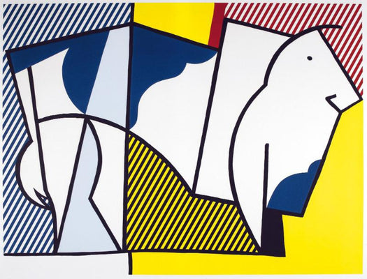 Abstract Painting by Roy Lichtenstein | Buy Posters, Frames, Canvas  & Digital Art Prints