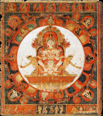 Acala With Consort Vishvavajri - Malla Period - 15th Century