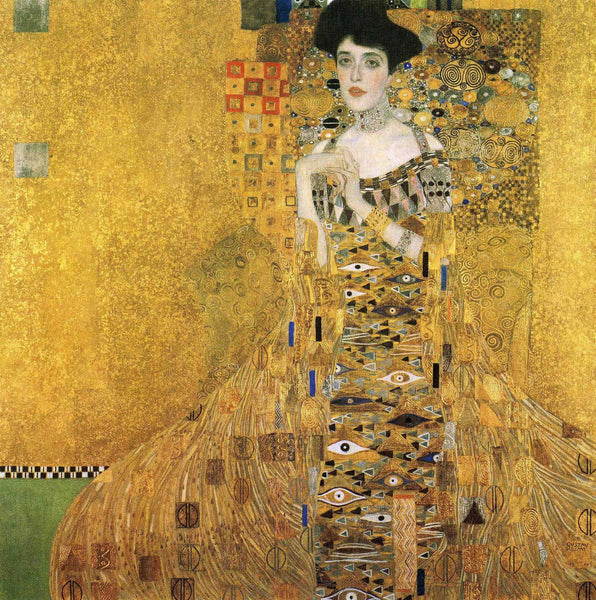 Artwork of Adele Bloch-Bauer by Gustav Klimt
