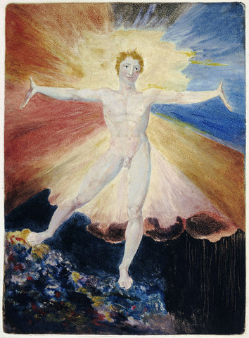 Albion Rose by William Blake