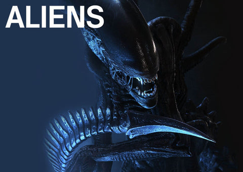Aliens - Tallenge Sci-Fi Hollywood  Movie Poster III