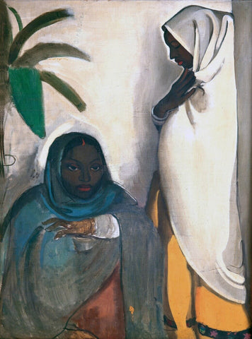 Two Women by Amrita Sher-Gil