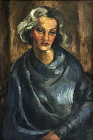 Indian Art - Amrita Sher-Gil - Madam Tachlitzky