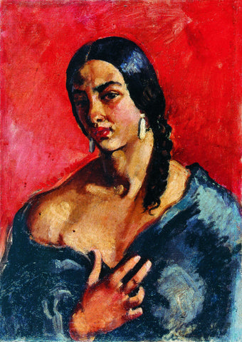 Indian Art - Amrita Sher-Gil - Self In Making