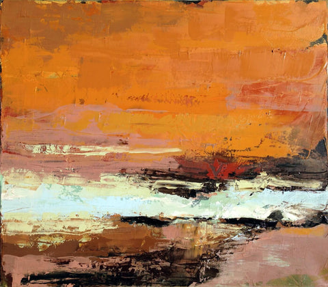 An Autumn Sonata - Abstract Painting