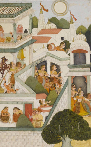 An Illustration To the Bhagavata Purana by Anonymous Artist