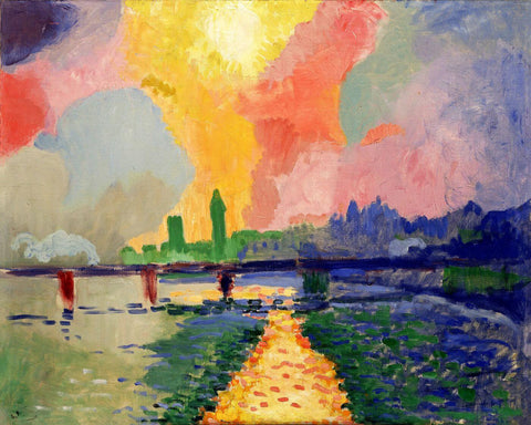 André Derain - Charing Cross Bridge 1906