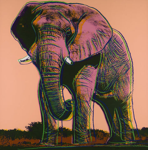 Andy Warhol - Endangered Animal Series  - African Elephant