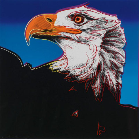 Andy Warhol - Endangered Animal Series -  Bald Eagle - Posters by Andy Warhol