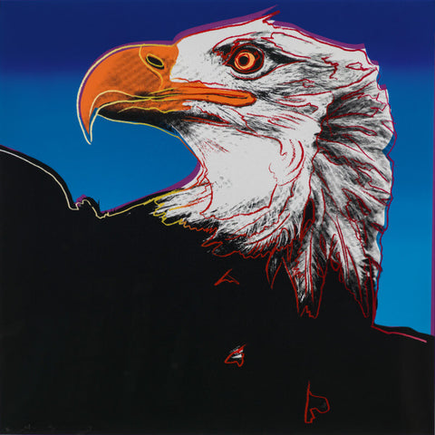 Andy Warhol - Endangered Animal Series -  Bald Eagle