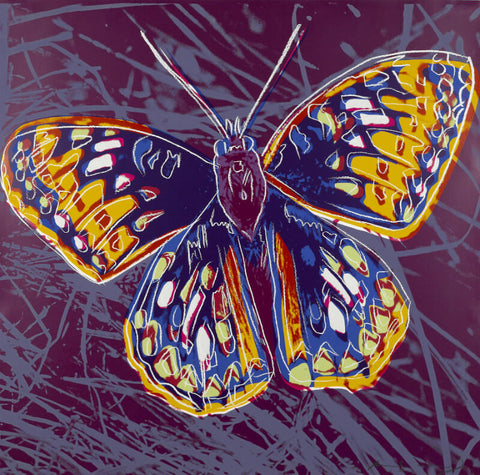 Andy Warhol - Endangered Animal Series -  San Francisco Silverspot