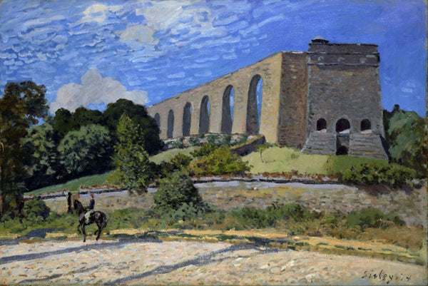 Aqueduct at Marly - Canvas Prints