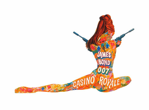 Art - Casino Royale - James Bond 007 - Hollywood Collection by Joel Jerry