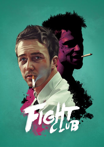 Art - Fight Club Poster - Hollywood Collection