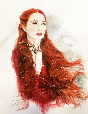 Art From Game Of Thrones - Red Priestess - Melisandre