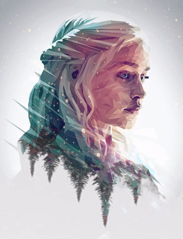Art From Game Of Thrones - Stormborn - Daenerys Targaryen