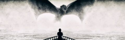 Art From Game Of Thrones - The Imp - Tyrion Lannister And Drogon - A3 Poster