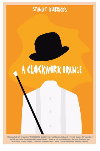 Art Poster - A Clockwork Orange - Hollywood Collection by Joel Jerry