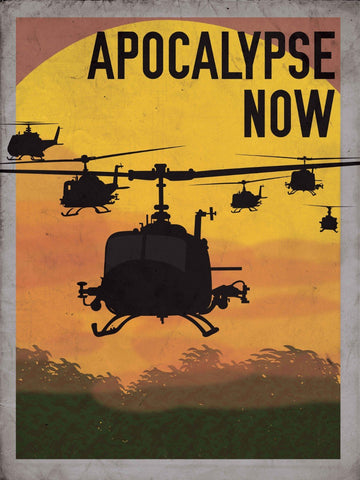 Tallenge Hollywood Collection - Movie Poster - Apocalypse Now
