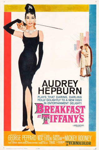Art Poster - Breakfast At Tiffanys - Hollywood Collection by Bethany Morrison
