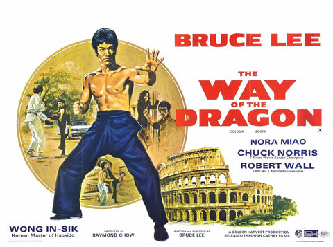 Art Poster - Bruce Lee - Way Of The Dragon - Hollywood Collection by Joel Jerry
