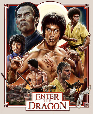 Art Poster - Enter The Dragon - Hollywood Collection by Joel Jerry