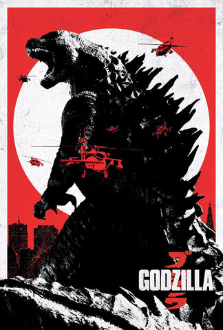Art Poster - Godzilla - Empire - Hollywood Collection - Posters