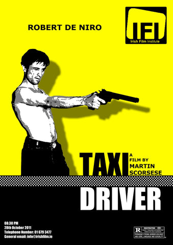 Poster - Robert De Niro in Taxi Driver - Hollywood Collection