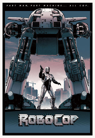 Art Poster - Robocop - Hollywood Collection by Joel Jerry