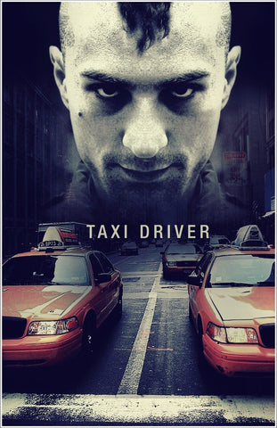Tallenge Hollywood Collection - Movie Poster - Taxi Driver - Robert De Niro