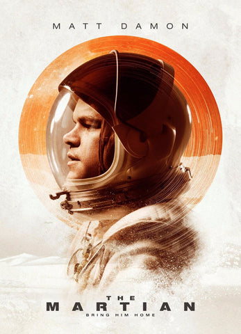 Art Poster - The Martian - Hollywood Collection by Joel Jerry