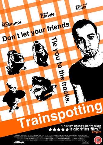 Tallenge Hollywood Collection - Movie Poster - TrainSpotting