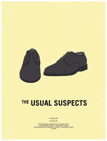 Tallenge Hollywood Collection - Movie Poster - Usual Suspects