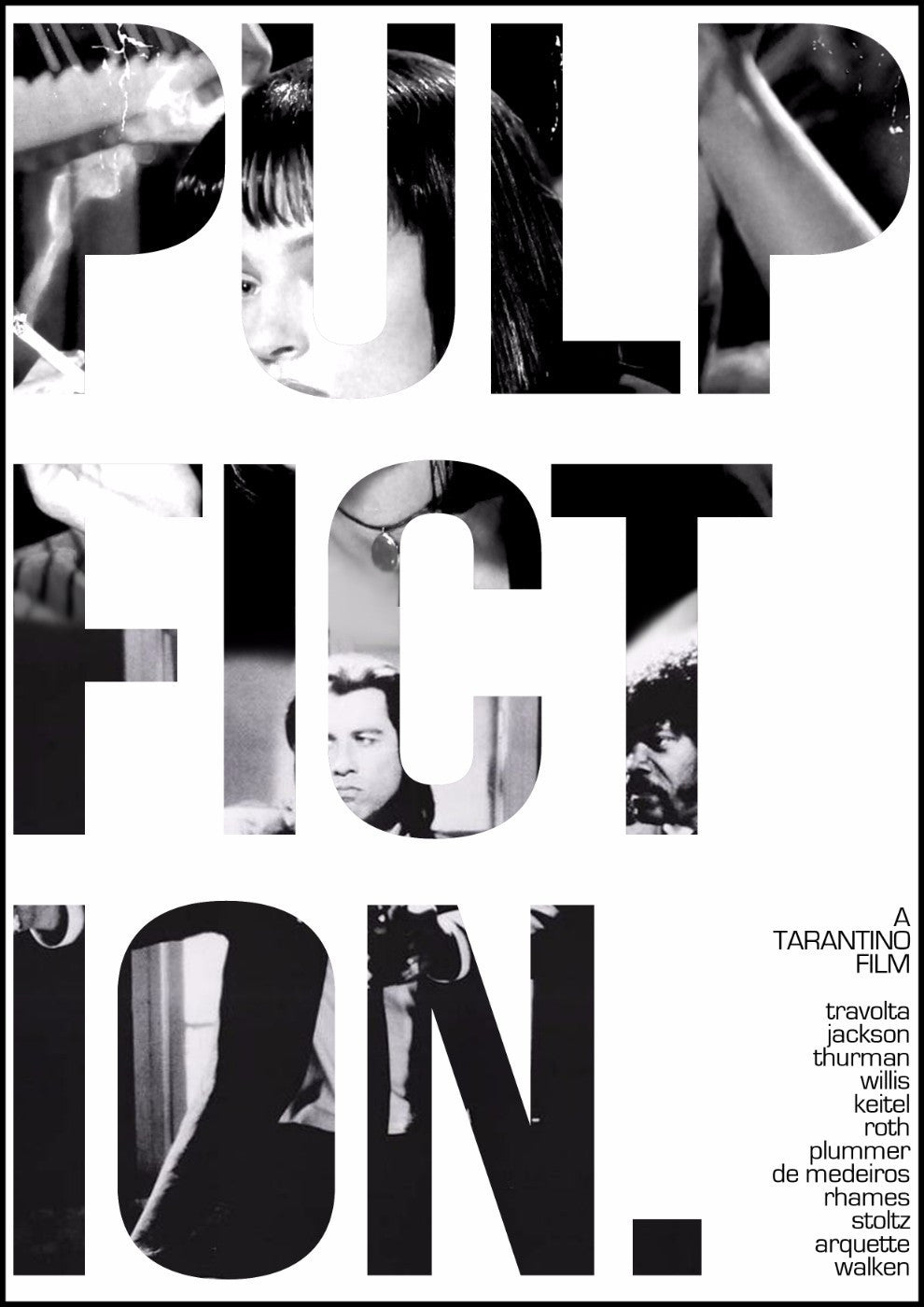 Art Poster 2 - Pulp Fiction - Hollywood Collection - Art Prints