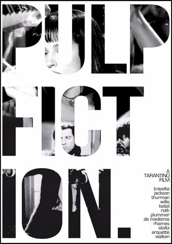 Art Poster 2 - Pulp Fiction - Hollywood Collection by Bethany Morrison