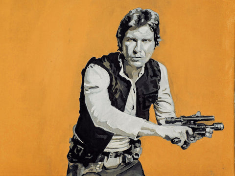 Art Print - Han Solo in Star Wars - Hollywood Collection - Posters