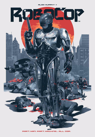 Art Print - Robocop - Hollywood Collection by Joel Jerry