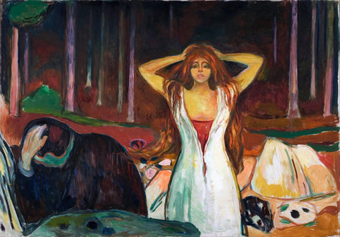 Ashes (Aske) - Edvard Munch