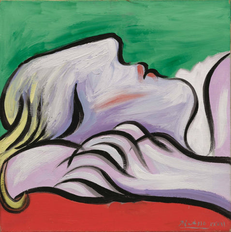 Pablo Picasso - Le sommeil - Asleep, 1932
