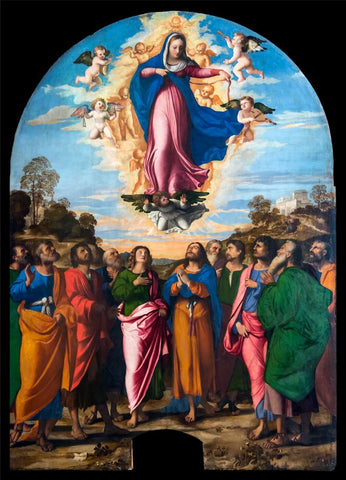 Assumption of Mary by Palma Vecchio