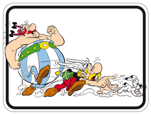 Asterix Obelix And Dogmatix - Chase - Posters