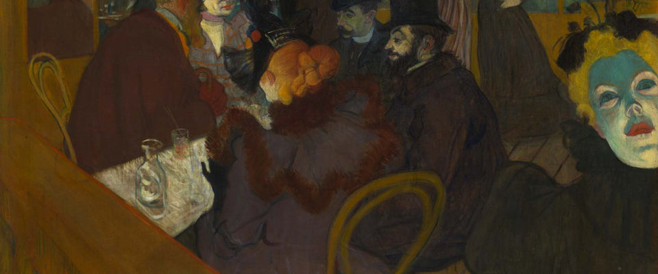 At the Moulin Rouge by Henri de Toulouse-Lautrec | Buy Posters, Frames, Canvas  & Digital Art Prints