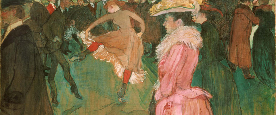 At the Moulin Rouge: The Dance by Henri de Toulouse-Lautrec | Buy Posters, Frames, Canvas  & Digital Art Prints