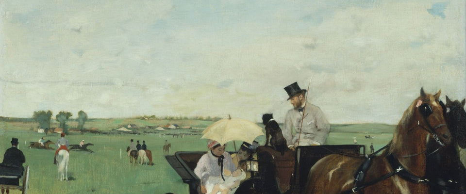 At the Races In The Countryside by Edgar Degas | Buy Posters, Frames, Canvas  & Digital Art Prints